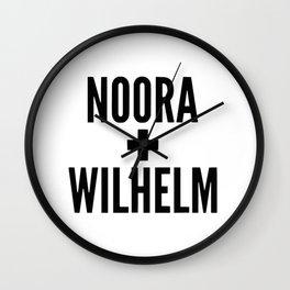 Noora Wilhelm Wall Clock