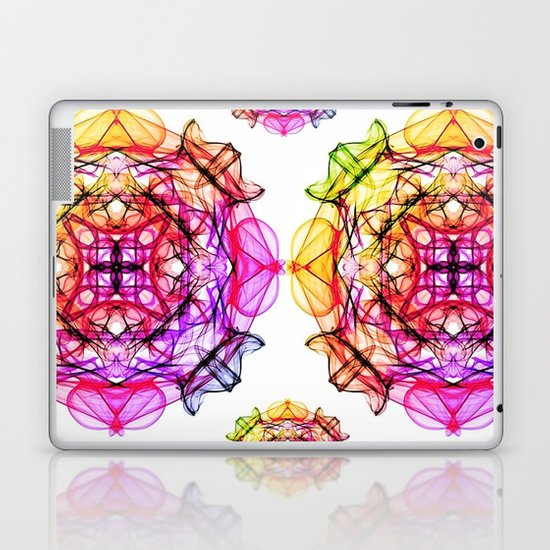 MANDALA ZINE II Laptop & iPad Skin