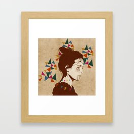 Sóley Framed Art Print