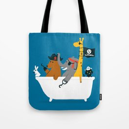 Everybody wants to be the pirate Tote Bag