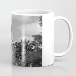 Girl on Swing B&W Coffee Mug