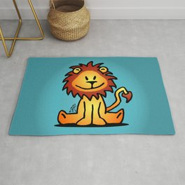Cute little lion Rug