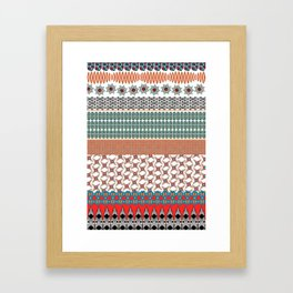 Africa Strip Framed Art Print