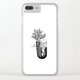 The tuba Clear iPhone Case