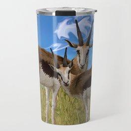Grazing Gazelles Travel Mug