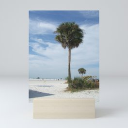 Lonely Palm Mini Art Print