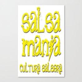 Salsa Mania Canvas Print