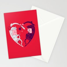 All Is Fair In Love And War Stationery Cards
