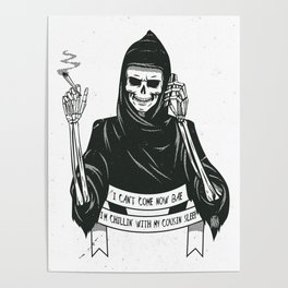 Cousin death Poster