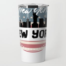 My City, My Home NEW YORK, NYC Travel Mug