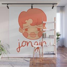 sleepy jongin Wall Mural