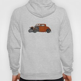 orange 32 hot rod Hoody
