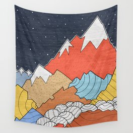 Rocky Mounts Wall Tapestry
