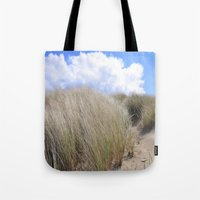 dune Tote Bags featuring Dune 2  by  Agostino Lo Coco