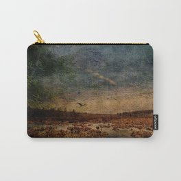 Heron in the Marshes Carry-All Pouch