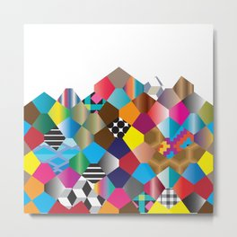Pattern_2 Metal Print