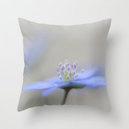 Soft violet Throw Pillow