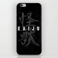 kaiju iPhone & iPod Skins featuring KAIJU by Mikio Murakami