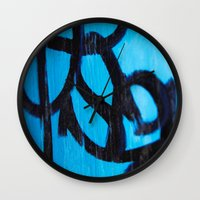 subway Wall Clocks featuring Subway by Lotus Effects