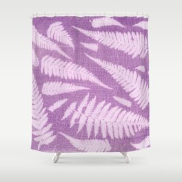Fern leaves #1 Shower Curtain