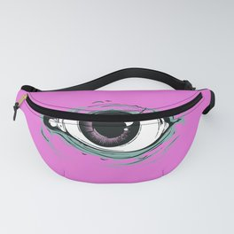 """I See You"" Pink Pattern Fanny Pack"