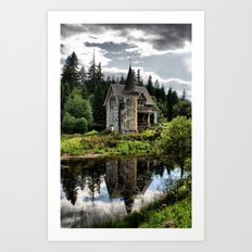 A Fairytale Gatelodge Art Print
