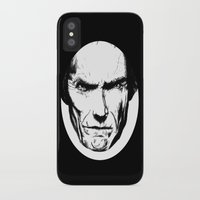 clint eastwood iPhone & iPod Cases featuring Clint Eastwood by Zombie Rust
