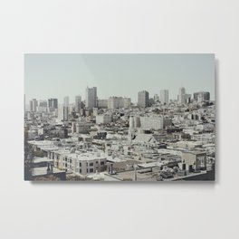 San Francisco IV Metal Print