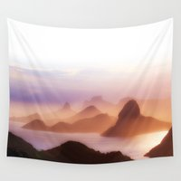 rio Wall Tapestries featuring Rio by Philipe Kling