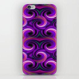 Swirled and Twirled Colors iPhone Skin