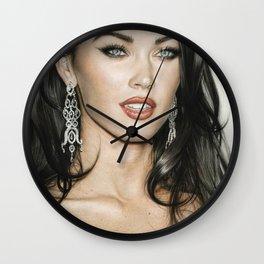 Megan Fox Wall Clock