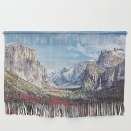 Tunnel View Yosemite Valley Wall Hanging