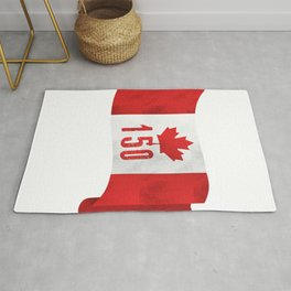 Canada 151 Canada Day Celebrations July 1s Rug
