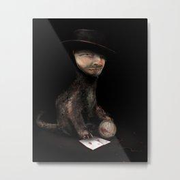 Charles the cat Metal Print