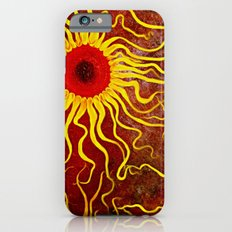 Psychedelic Susan 003, Sunflowers Slim Case iPhone 6s