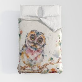 Yep, Cute Is My Middle Name (Owl) Comforters