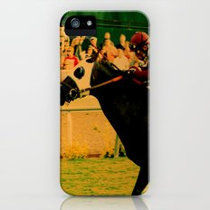 Horse Race, For The Win... Slim Case iPhone (5, 5s)