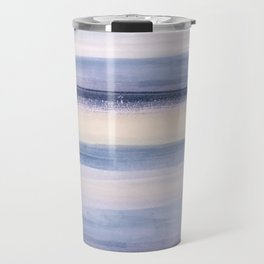 Beach Stripes Travel Mug