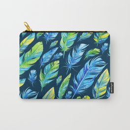 Boho Feather Pattern Part 6 Carry-All Pouch