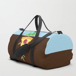 Pizza is a Vegetable Duffle Bag