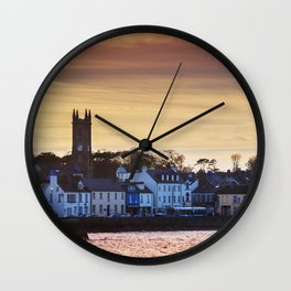 Donaghadee - Sunset Wall Clock