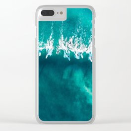 Surf's Up / Break Time / Summer Swell /Pacific Ocean Clear iPhone Case