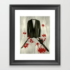 Smoking kills! Framed Art Print