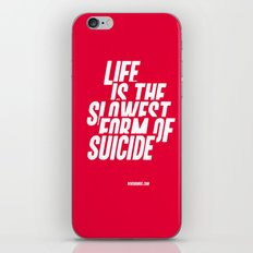 The Slowest Form iPhone & iPod Skin