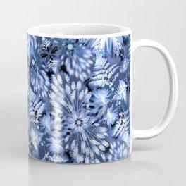 Botanical Indigo Shibori Coffee Mug