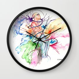 CONFESSION I @EdART Wall Clock