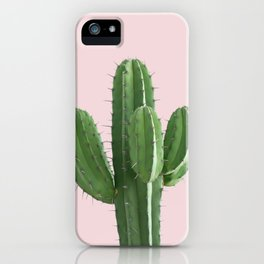 Cactus in Pink iPhone Case