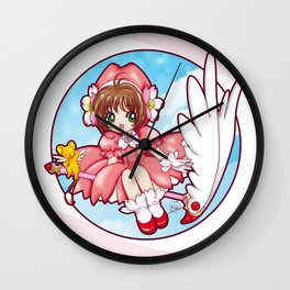 Sakura Kinomoto (Classic Dress) Wall Clock