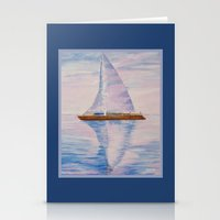 serenity Stationery Cards featuring Serenity by Ana Lillith Bar