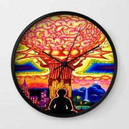 Tree of Knowledge Wall Clock